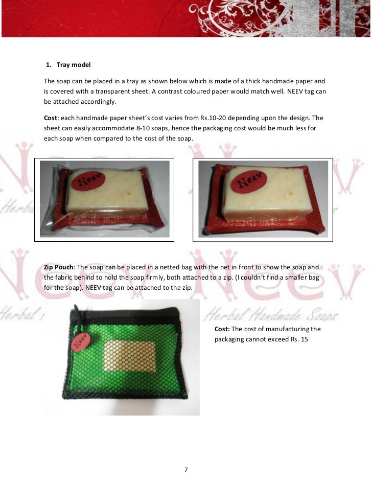 1. Tray modelThe soap can be placed in a tray as shown below which is made of a thick handmade paper andis covered with a ...
