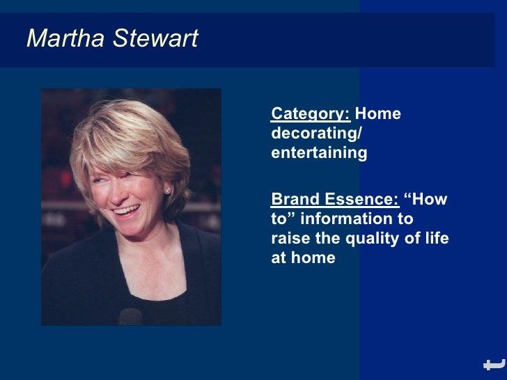 martha stewart brand strategy