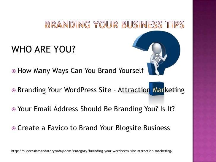 Branding your business_simt Slide 2