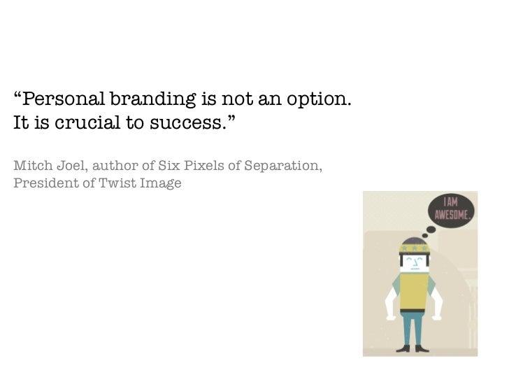 Branding Yourself Slide 2