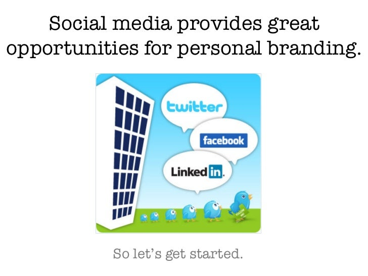 Branding Yourself Slide 3