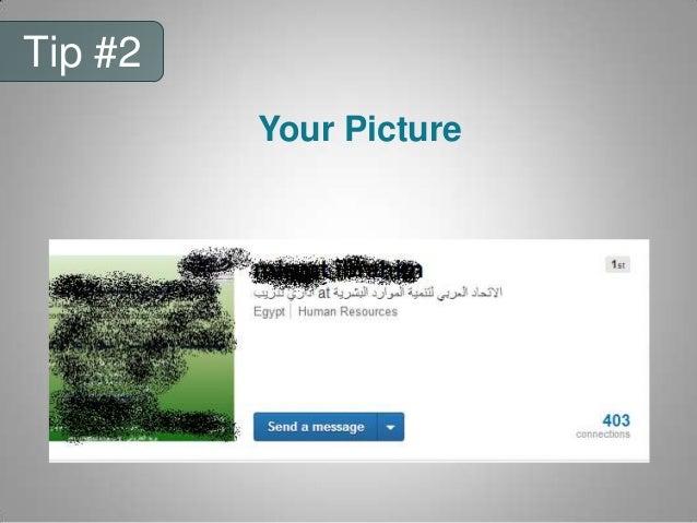 Tip #7 Verify your info
