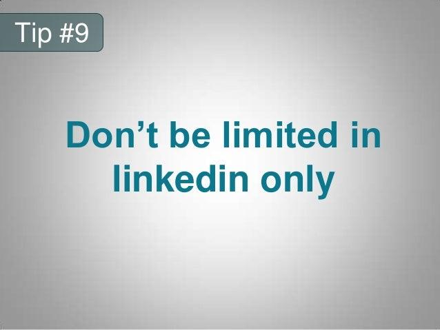 Branding yourself on linkedin