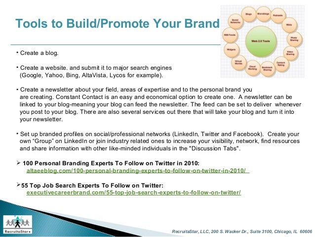 11 - Using Social Media For Branding Yourself Promoting Yourself And Finding A Great Job