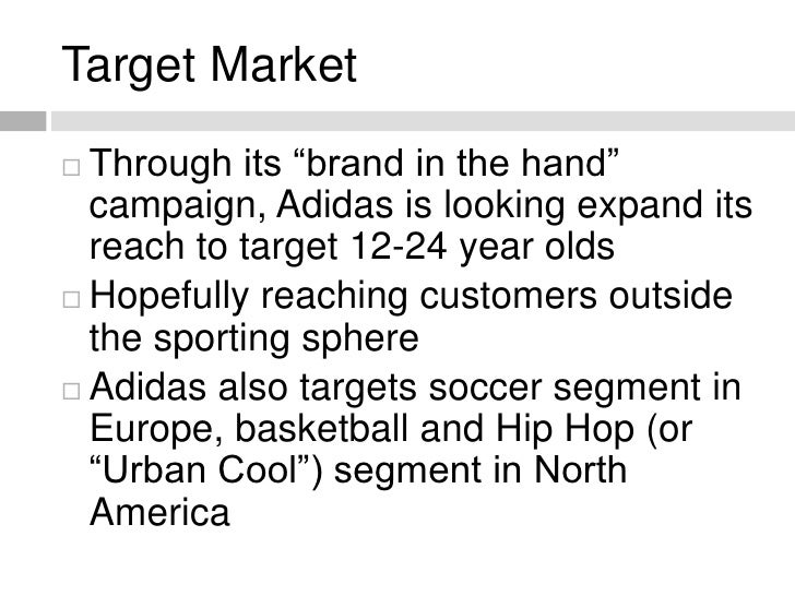 target market segmentation soccer Market segmentation splits up a market into different types (segments) to enable a business to better target its products to the relevant customers.