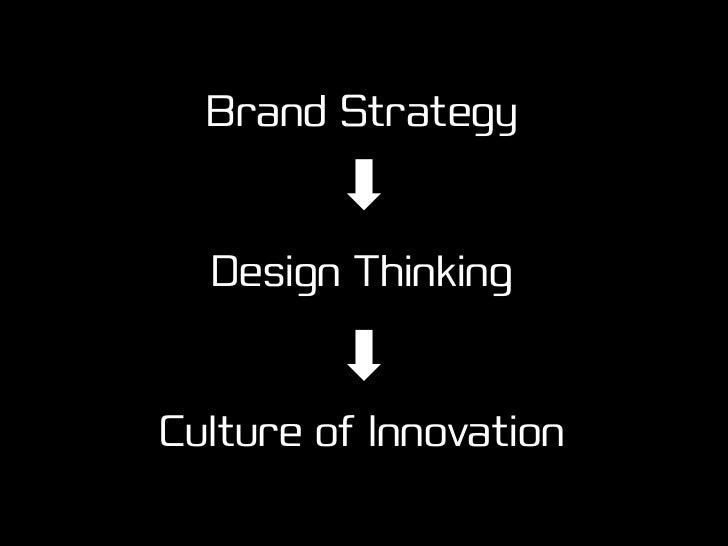 If you wanna innovate…                 …you gotta design!