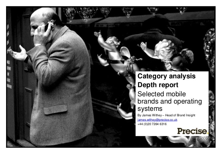 Category analysis                            Depth report                            Selected mobile                      ...