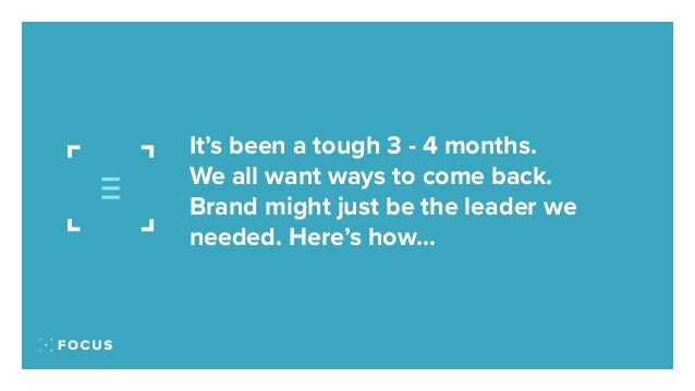 Brand is the fight back 2020 to 2021 Slide 2