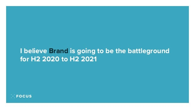 Brand is the fight back 2020 to 2021 Slide 3