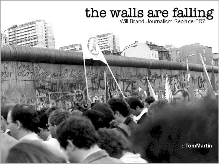 the walls are falling                                            TomMartin
