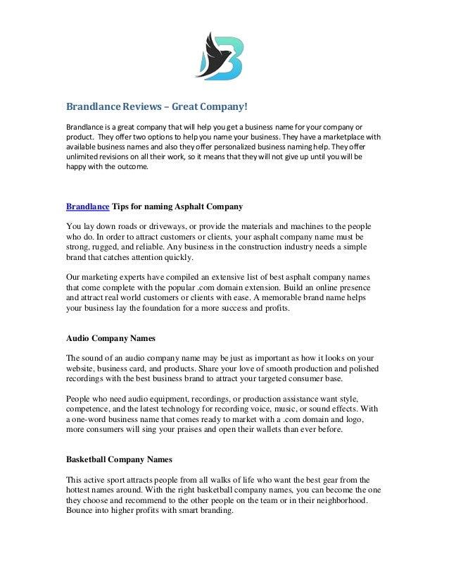 Brandlance reviews _great_company