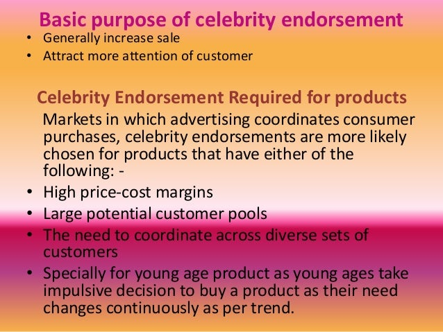 Celebrity Endorsements: Which Brands Your Favorite ...