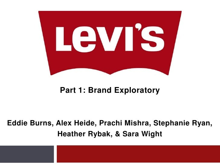 Part 1: BrandExploratory<br />Eddie Burns, Alex Heide, Prachi Mishra, Stephanie Ryan, <br />Heather Rybak, & Sara Wight<br />