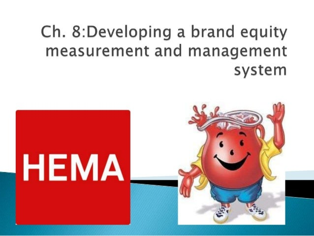  What does a brand equity measurement system mean to you?  What about a brand equity management system?
