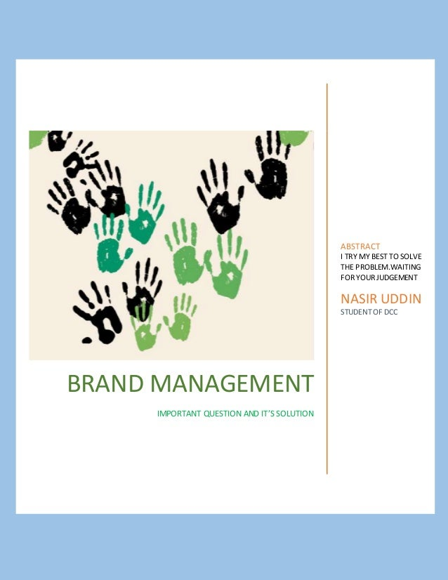 Managing the brand