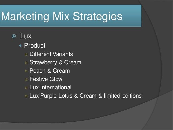 Lifebuoy Marketing Mix