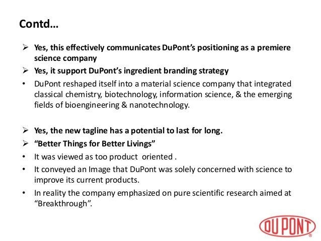 dupont managing a corporate brand Dupont sustainable solutions recognized as top ehs  global managing director of dupont   .