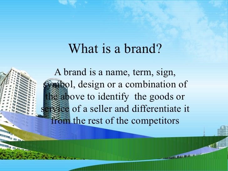 Brand Management Ppt Mba