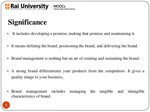 Brand Management Process and Brand Evolution - Introduction to Branding Slide 3