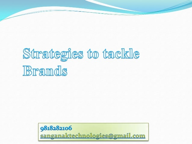 Brand Management strategies deals with brands as basis and forms various strategiesto bring business to the Company. The ...