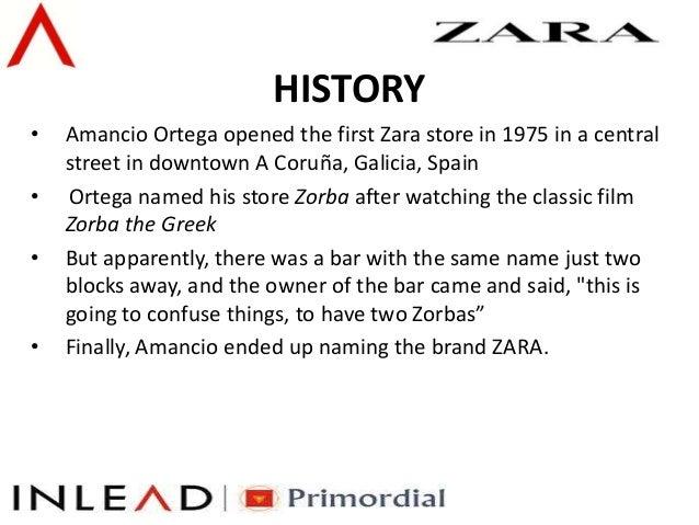 Brand Management - Zara Fashion