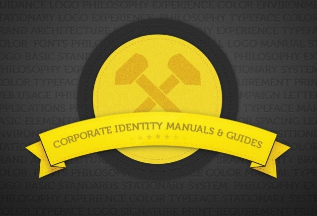 Corporate Identity Manuals & Guides                                     your                                     logohere:...