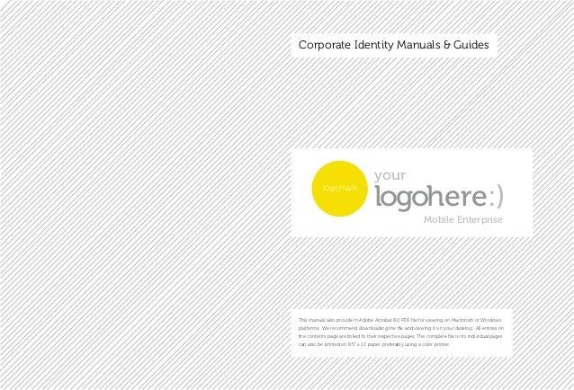 Branding manual Slide 2