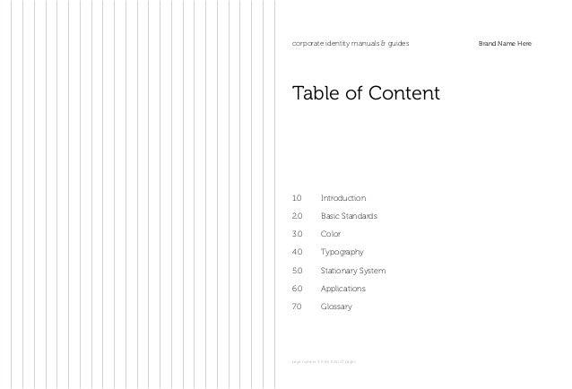 Branding manual Slide 3