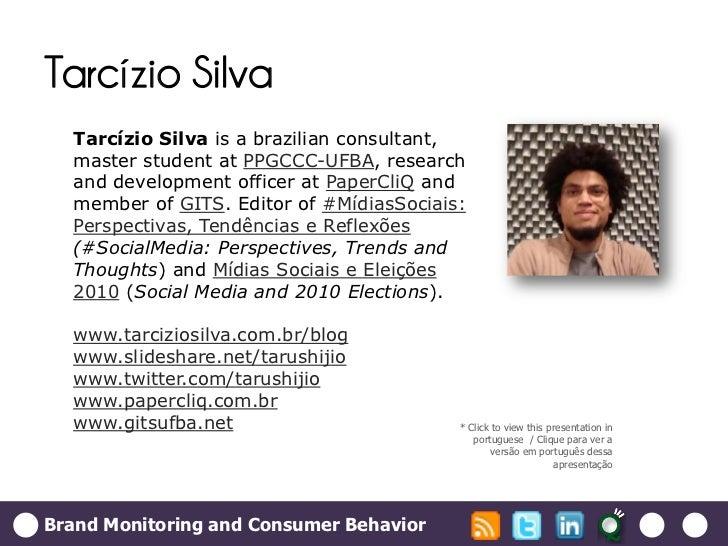 Brand Monitoring and Consumer Behavior Slide 2