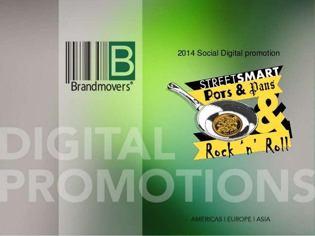2014 Social Digital promotion