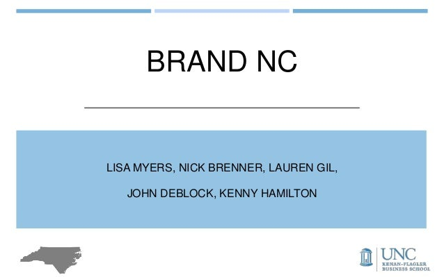 BRAND NC LISA MYERS, NICK BRENNER, LAUREN GIL, JOHN DEBLOCK, KENNY HAMILTON