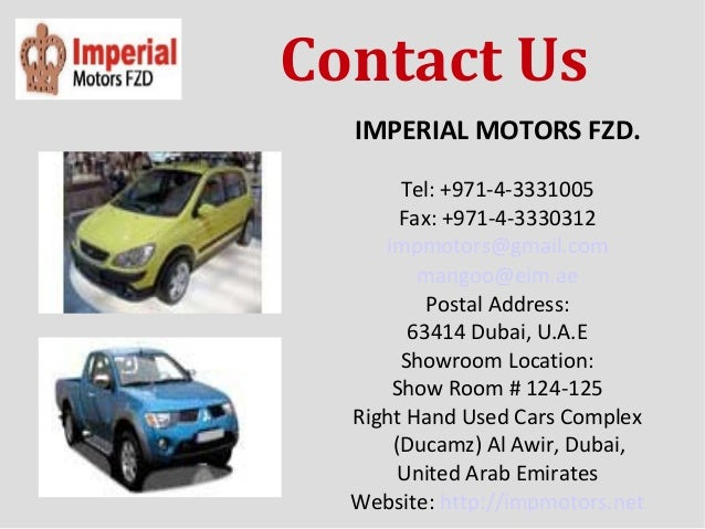Brand New Car Dealers Dubai