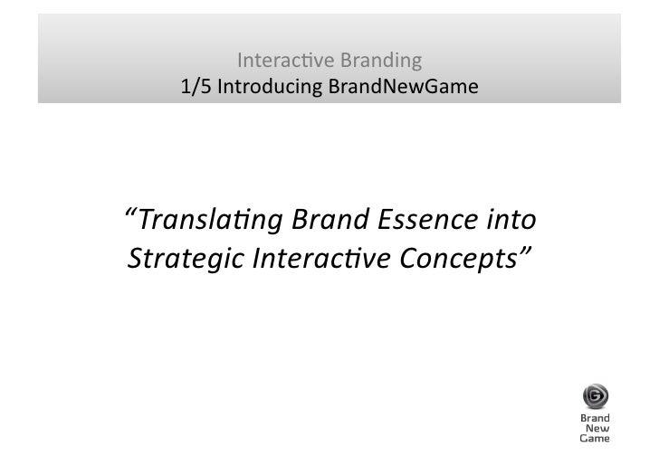BrandNewGame - Bjorn Borg game concept Slide 3