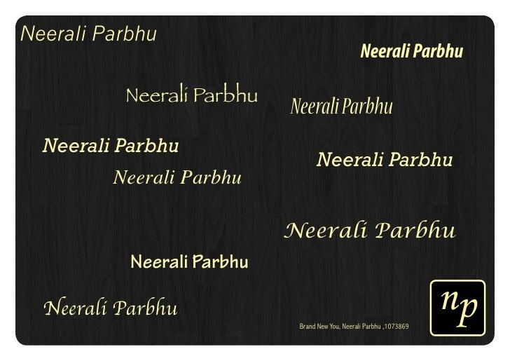 Neerali Parbhu                                                  Neerali Parbhu          Neerali Parbhu                    ...