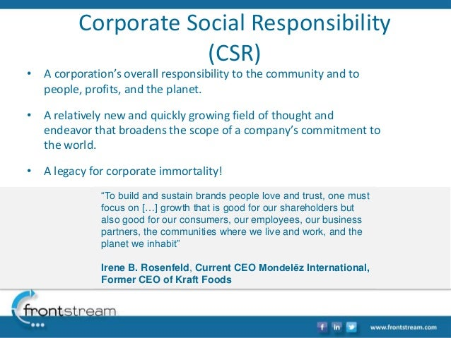 What Is Csr And Why Is It Important