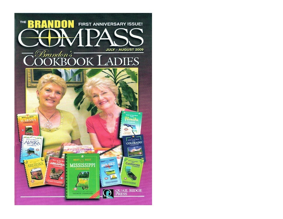 """""""The Cookbook Ladies"""" in The Brandon Compass"""