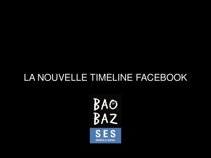 LA NOUVELLE TIMELINE FACEBOOK
