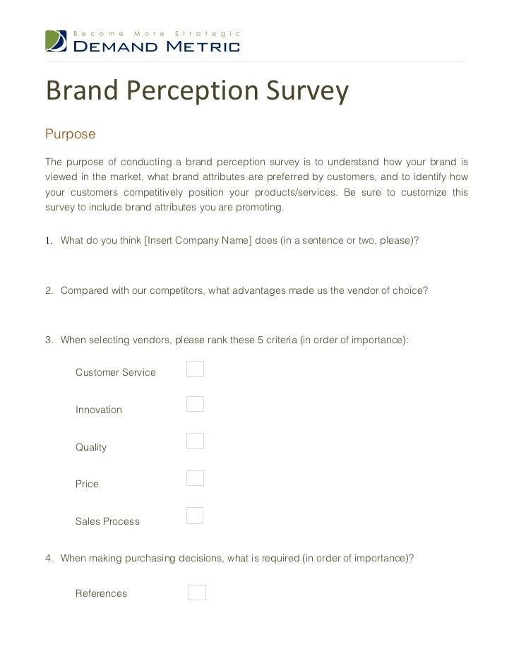 customer survey questions templates