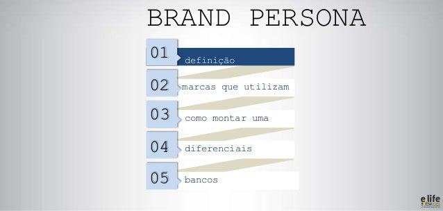 Como criar sua Brand Persona para Social CRM Slide 2