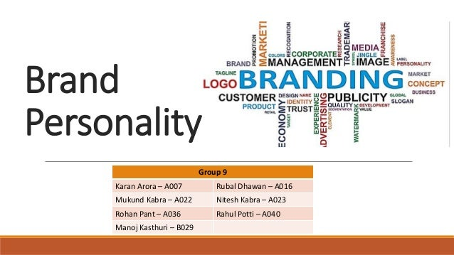 how to develop a brand personality