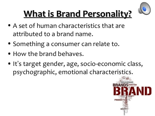 brand personality consumers Not only do consumers experience a brand's marketing activities in light of their own values,  why brand personality matters: aligning your brand to cultural drivers of success for many years, researchers have been using the concept of brand personality to help describe brands and understand how they relate to consumers more recently.