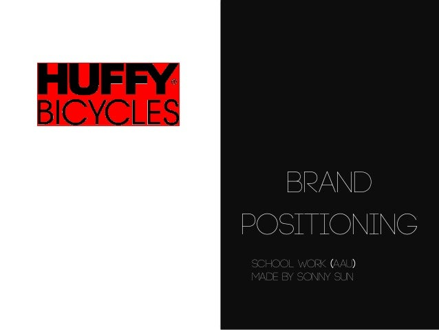 Brand Positioning School work (AAU) Made by Sonny Sun