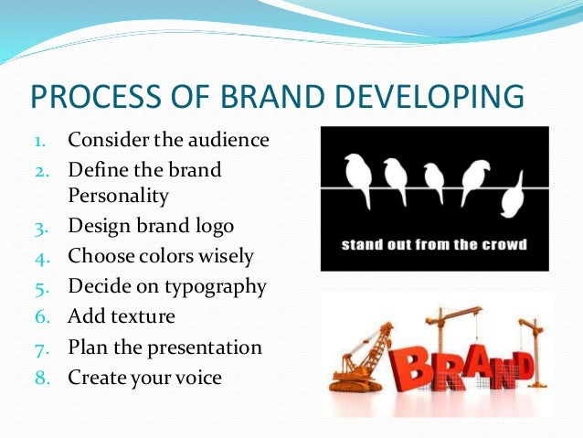 Brand positioning and identification