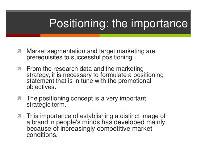 target market positioning statement Toyota target market and positioning strategy v11 toyota target market and positioning strategy learning team a dan black, amy giordando, lisa haug, juana hunsberger.