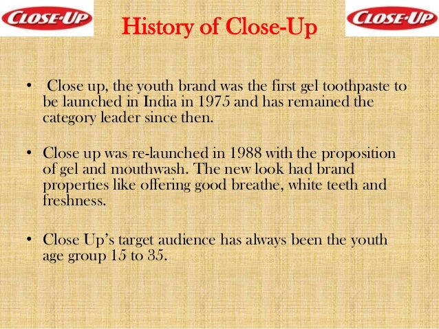 close up toothpaste company profile
