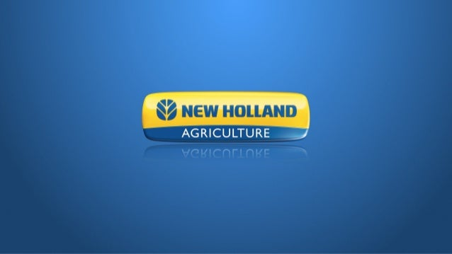 Brand ppt 2014 for NEW HOLLAND TRACTORS AND CNH
