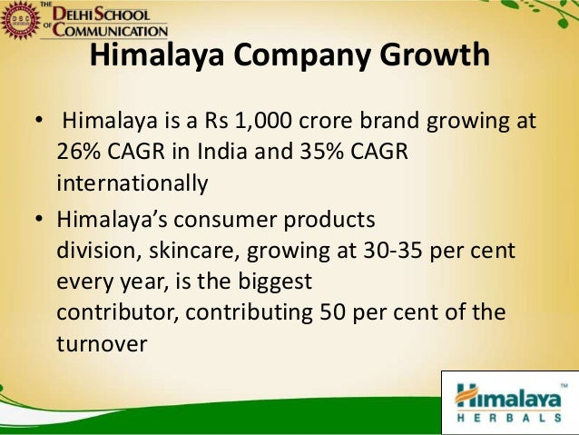 Brand Presentation Himalaya Herbals
