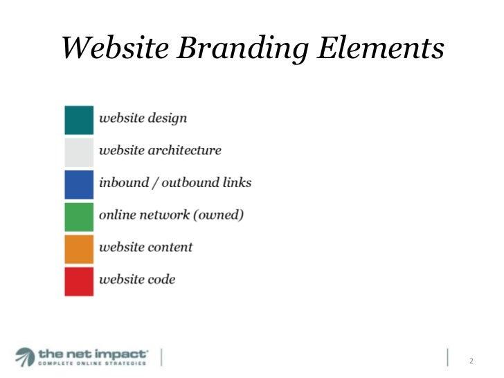 Brand Consistency for Website Navigation, Social Media and SEO Slide 2