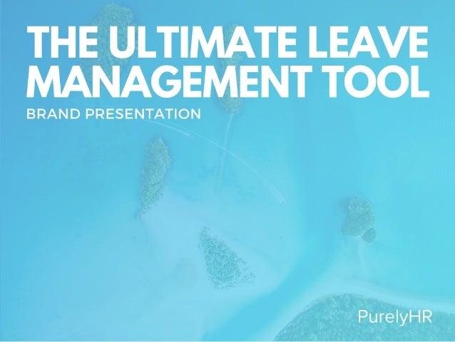 PurelyHR Brand Presentation