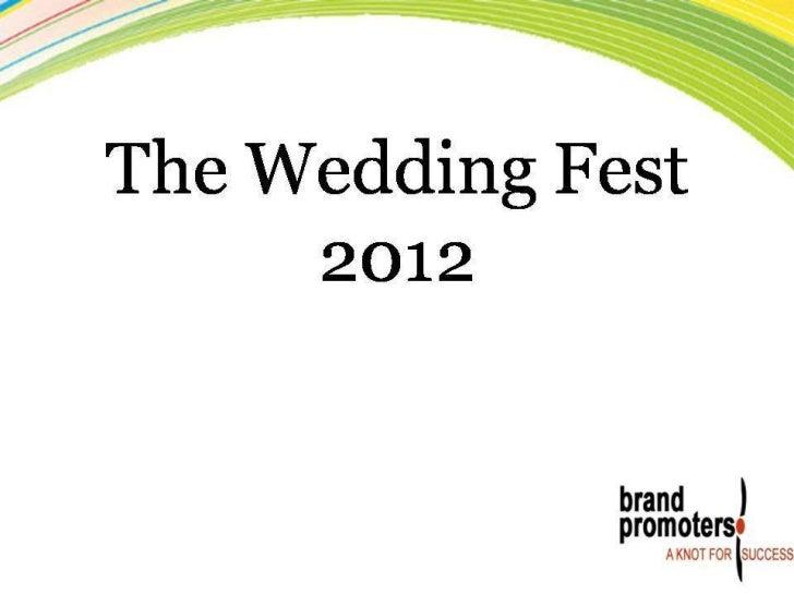 Brand promoters wedding fair